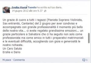 Ersilia Maria Tuosto 02-06-2012