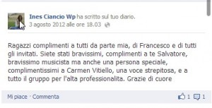 Ines Ciancio 01-08-2012
